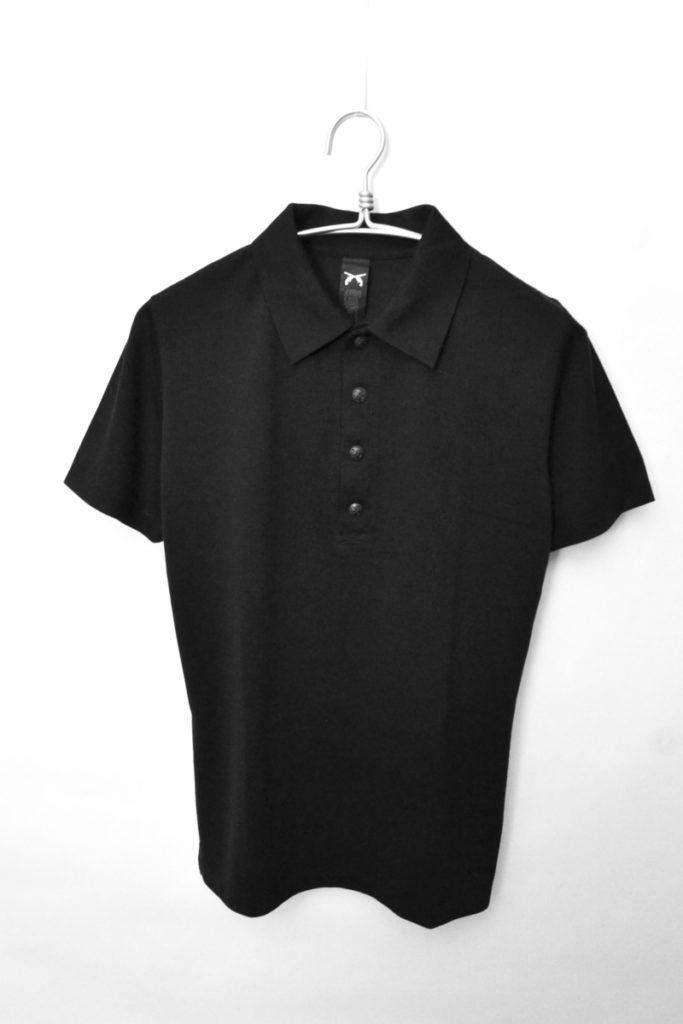 二丁拳銃 ペイズリー刺繍 半袖ポロシャツ