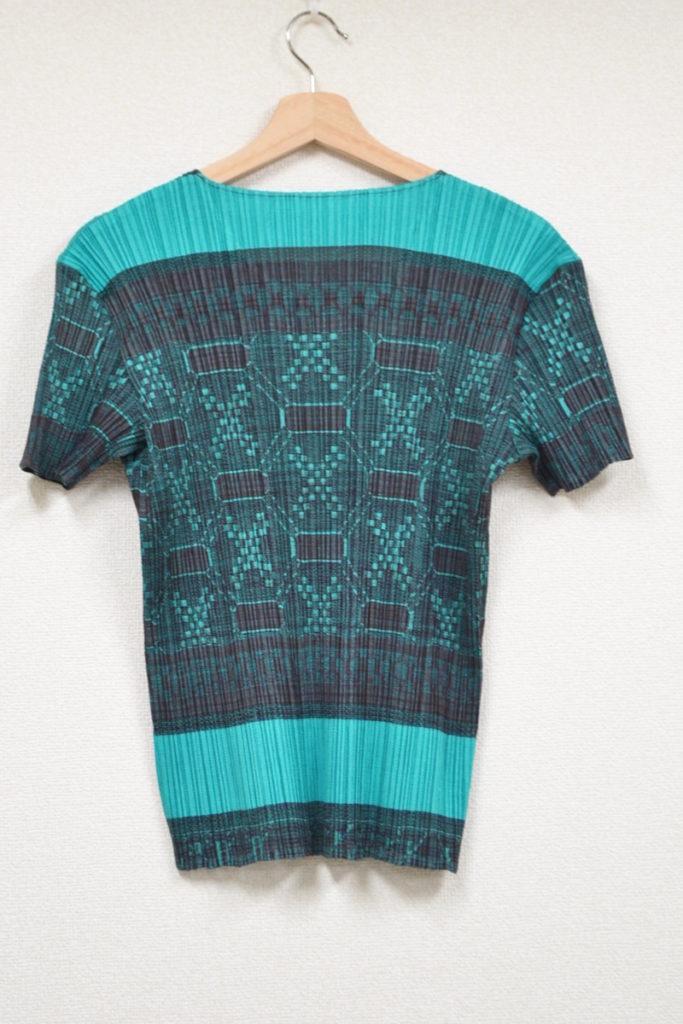 2002SS/総柄 プリーツTシャツ カットソーの買取実績画像