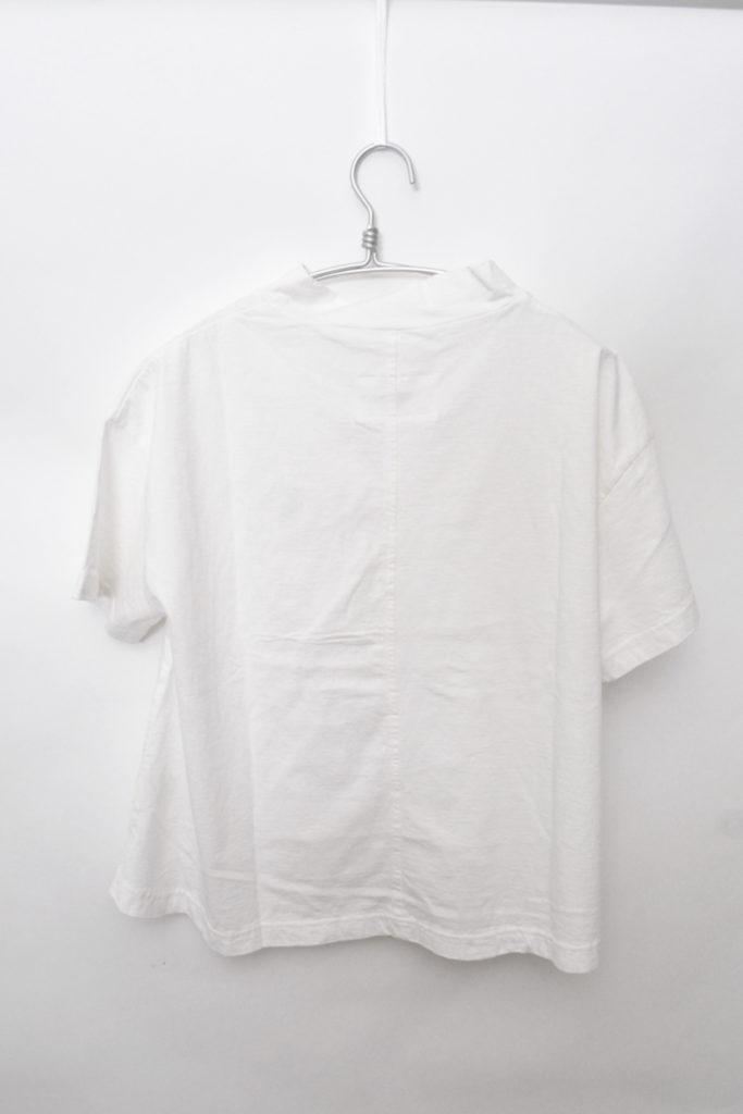 2019SS/空紡天竺モックネックプルオーバー 製品洗いカットソーの買取実績画像