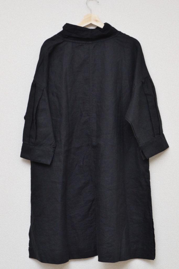 シャツ襟 リネン ドルマンスリーブ ワンピースの買取実績画像