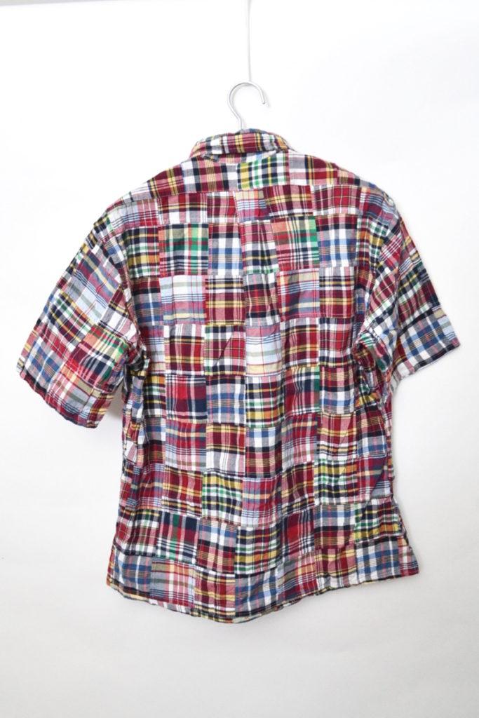 パッチワークチェック 半袖シャツの買取実績画像