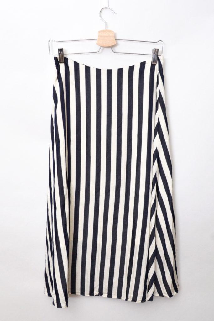 2019SS/キュプラストライプフレアースカートの買取実績画像