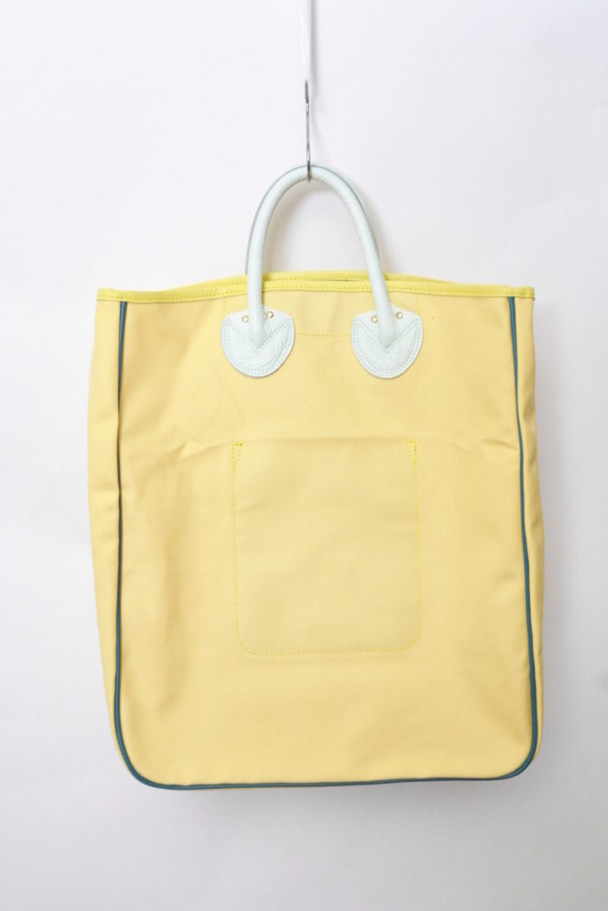 CANVAS CARRYALL TOTE キャンバス × レザー トートバッグ