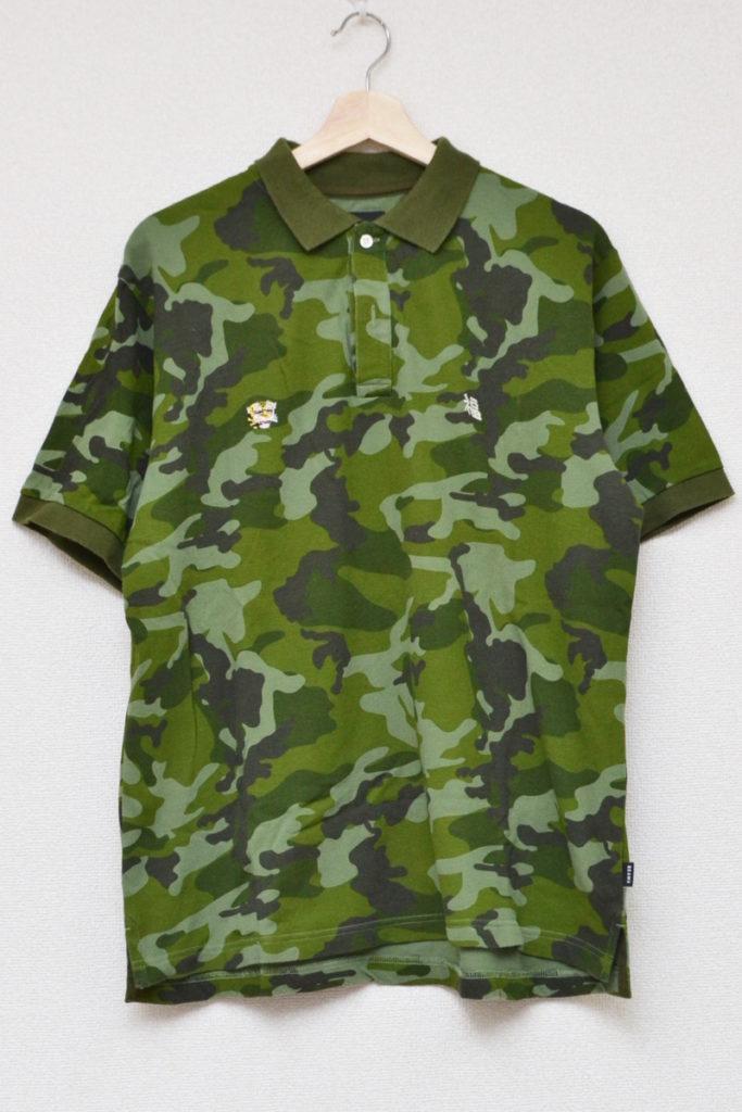 迷彩 スーベニア 半袖 ポロシャツ