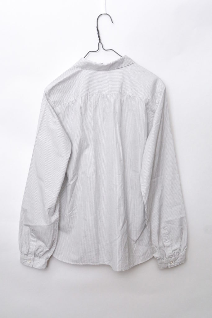 ボタンダウン 丸襟 ギャザーブラウス シャツの買取実績画像