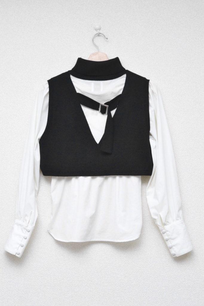 MINI KNIT DOCKING SHIRT ミニニット ドッキングシャツの買取実績画像