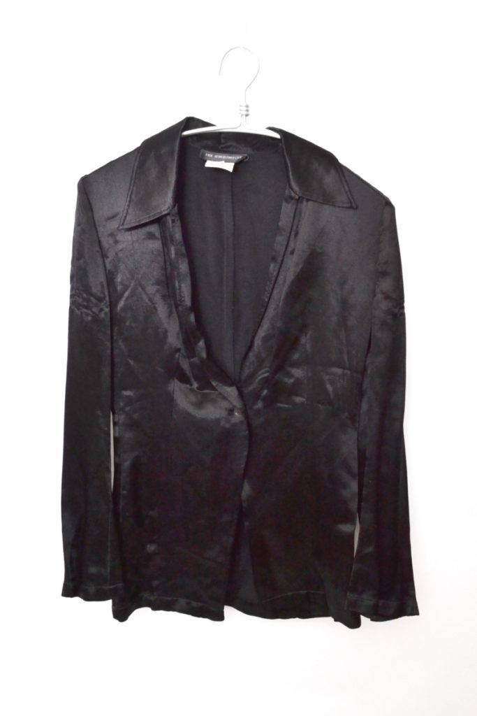 1990s レーヨン 1Bジャケット スキッパーブラウス