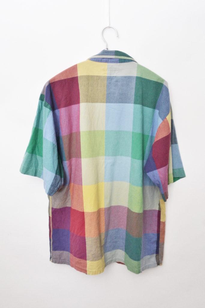 2018SS/FRANKIE'S SHIRT- MULTI CHECK マルチチェック オープンカラーシャツの買取実績画像