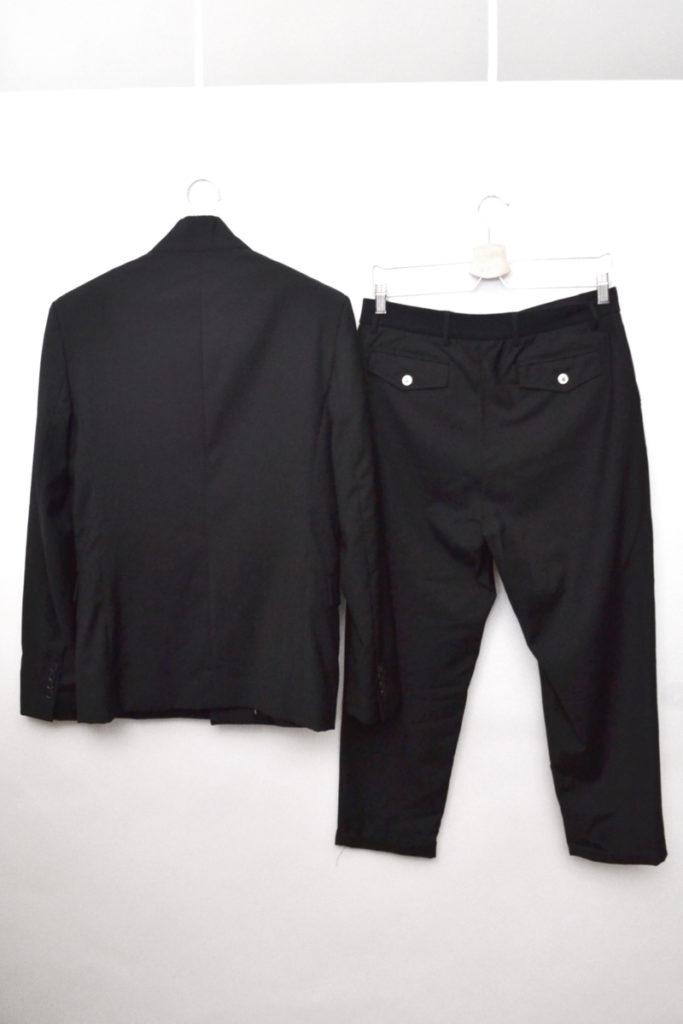2012/ウールギャバジン フロントジップジャケット ウエストリブパンツ セットアップの買取実績画像