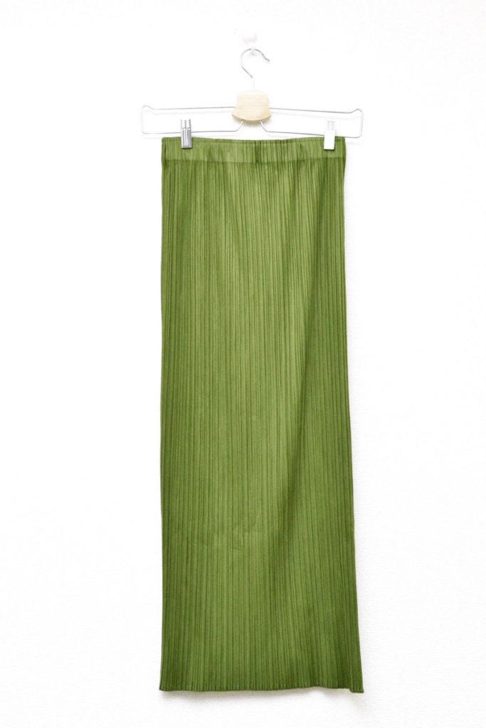 2001AW/スリット プリーツ ロングスカートの買取実績画像