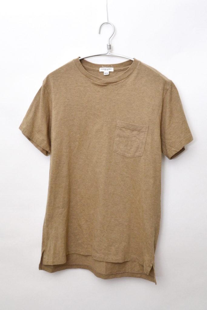 Cross Neck Tee クロスネック ポケットTシャツ