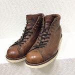 プリント黒タグ 5-inch Lace-to-Toe Field Boots モンキーブーツ フィールドブーツ