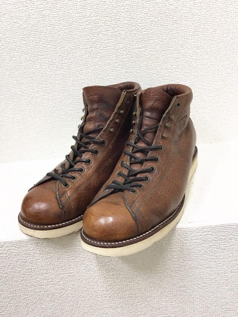 プリント黒タグ 5-inch Lace-to-Toe Field Boots モンキーブーツ フィールドブーツの買取実績画像