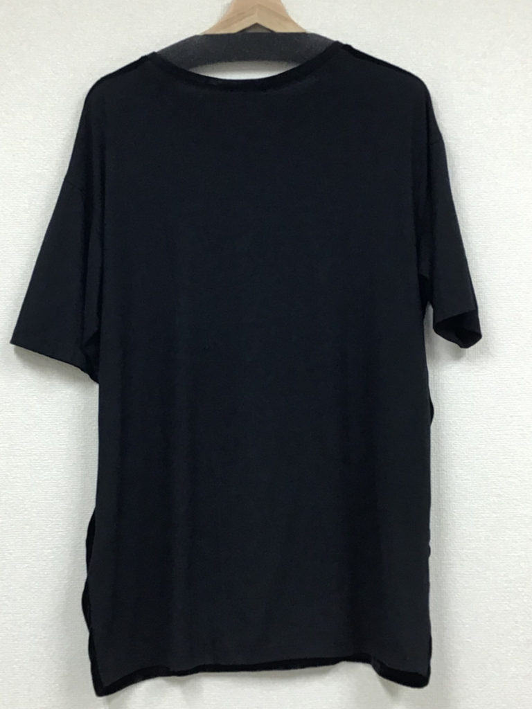 2018SS/T-SHIRT BERBER コーデュロイ 天竺前後切替 半袖Tシャツの買取実績画像