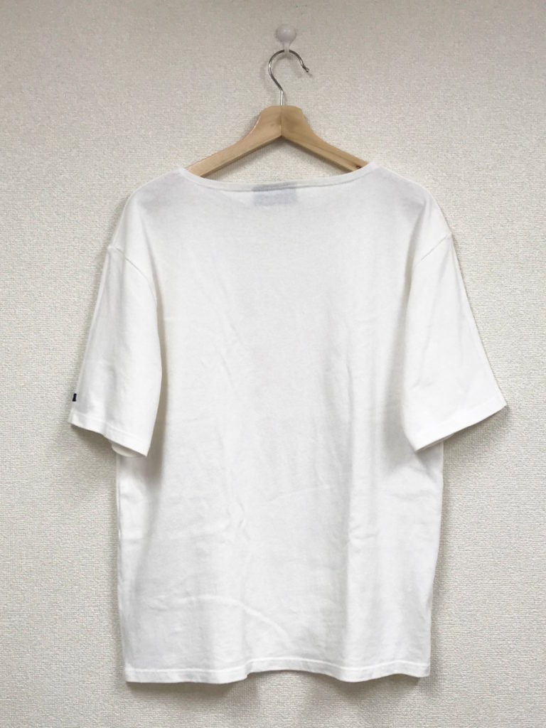 OUESSANT S/S SOLID ウエッソン 半袖 無地 バスクシャツの買取実績画像