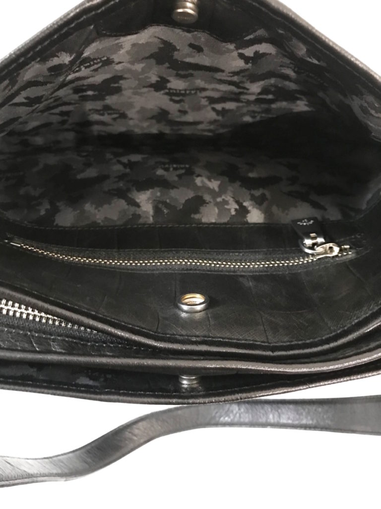 Double Embossed Leather Simple Tote クロコダイル型押し シンプル トートバッグの買取実績画像