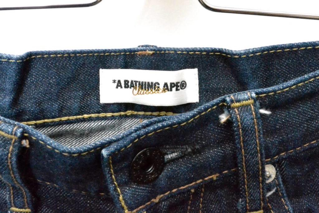BUSY WORKS刺繍 デニムショートパンツの買取実績画像