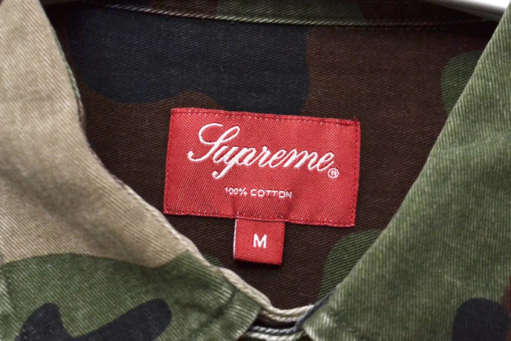 SAFARI SHIRT カモフラージュ柄 サファリシャツの買取実績画像