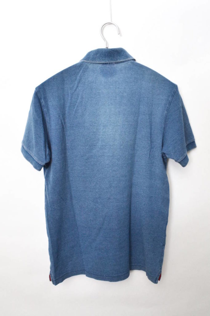 聖林公司別注 ウォッシュインディゴ 鹿の子ポロシャツの買取実績画像