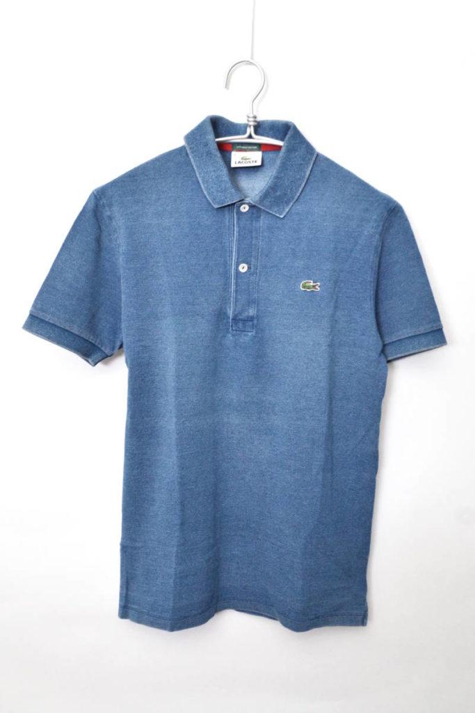 聖林公司別注 ウォッシュインディゴ 鹿の子ポロシャツ