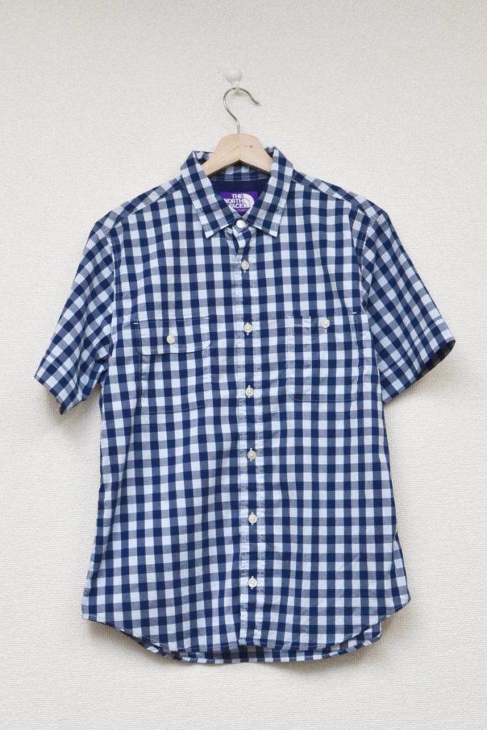 COOLMAX ギンガムチェックシャツ