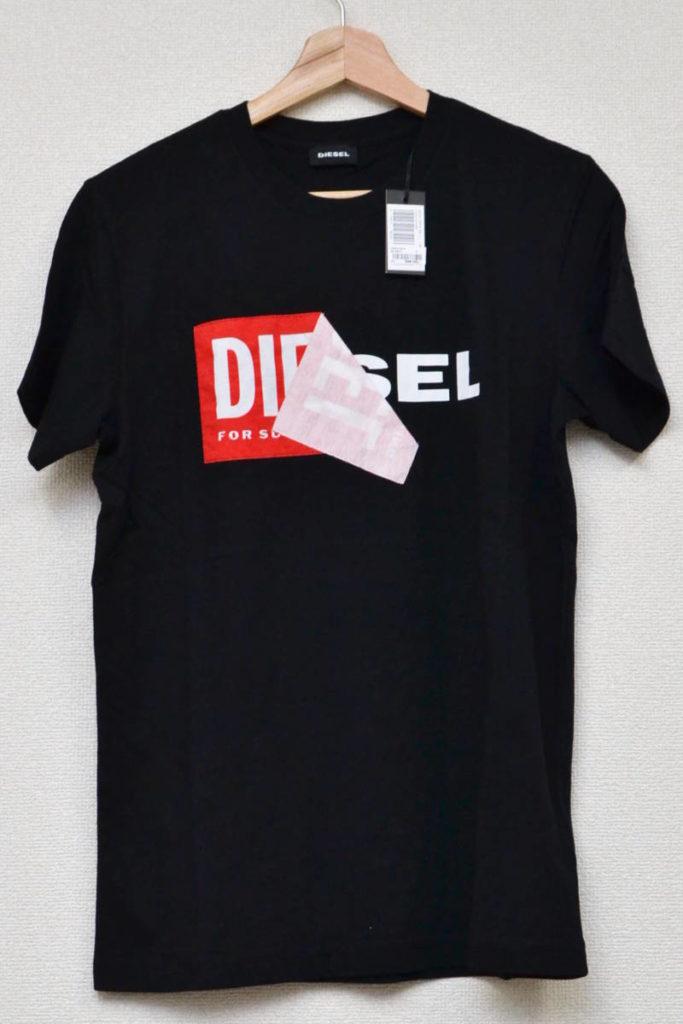 T-DIEGO-QA ロゴ Tシャツ
