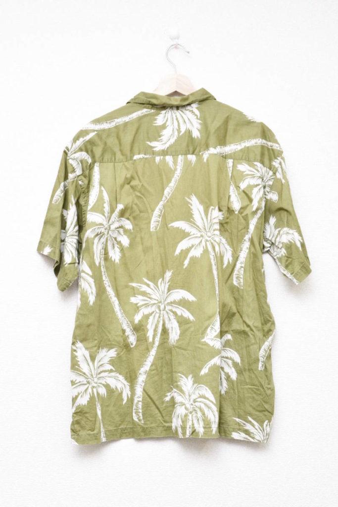 2003年モデル/パームツリー ヤシの木 オープンカラー アロハシャツの買取実績画像