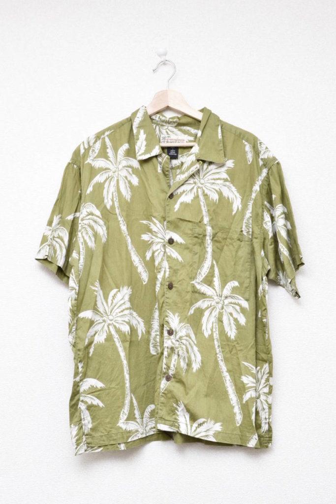 2003年モデル/パームツリー ヤシの木 オープンカラー アロハシャツ