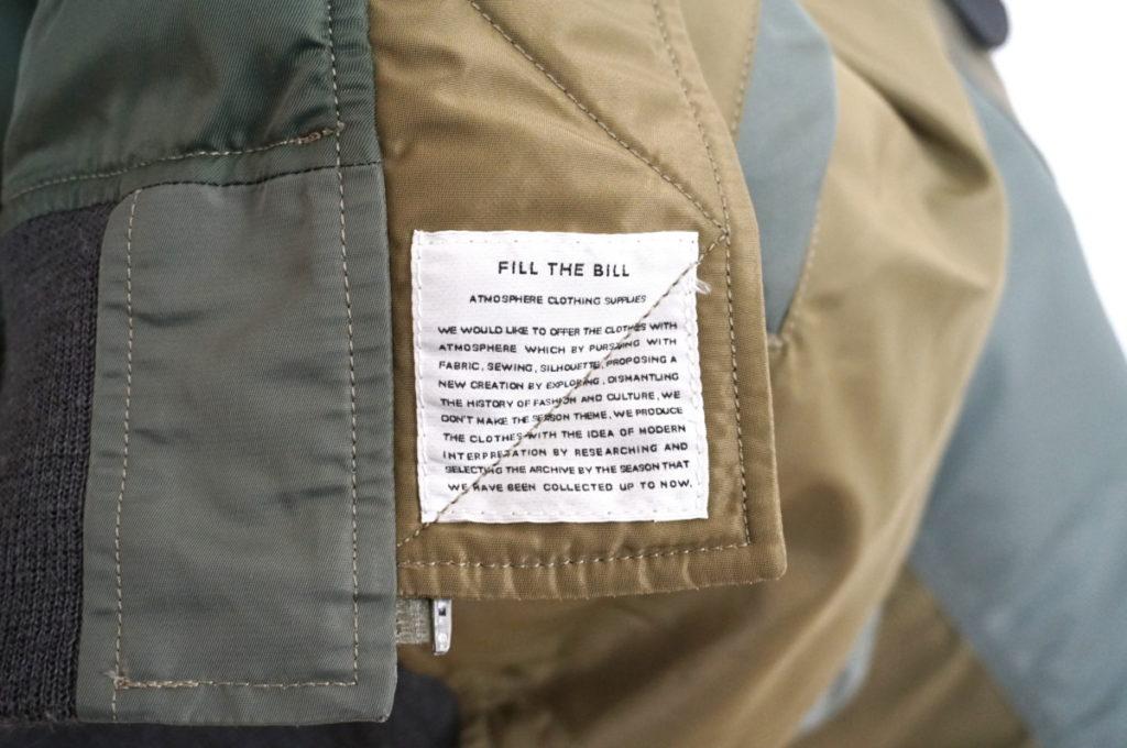 × Buzz Rickson's ◆ 2018AW/ B-15D フライトジャケットの買取実績画像