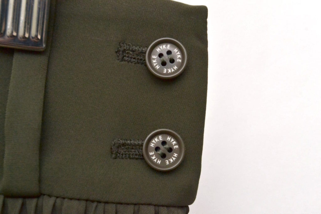 2018SS/PLEATED SKIRT ポリエステルタフタ プリーツスカート ロングスカートの買取実績画像