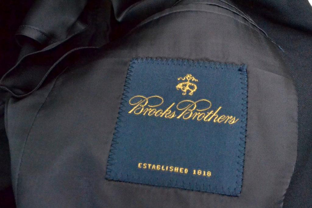 × BROOKS BROTHERS ◆ AD2015 2016SS/ 袖切替 ブレザー ジャケットの買取実績画像