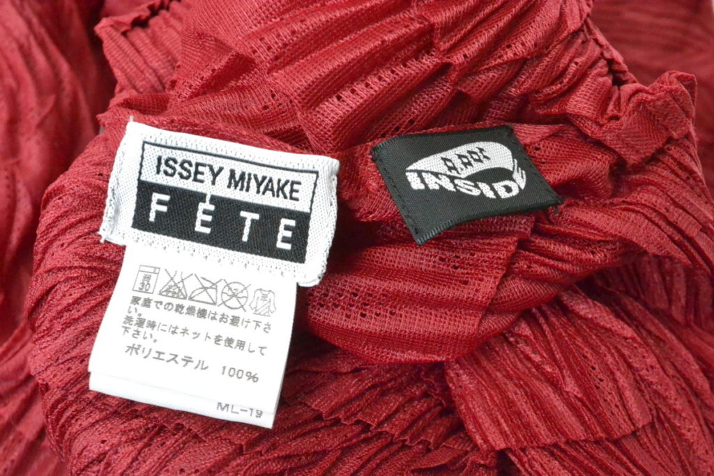 FETE/2008AW/ プリーツ加工 ブラウス シャツの買取実績画像