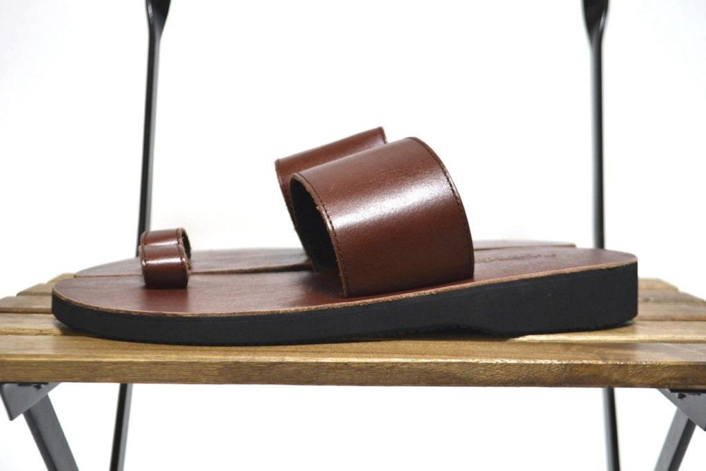 ビブラムソール レザーストラップサンダルの買取実績画像