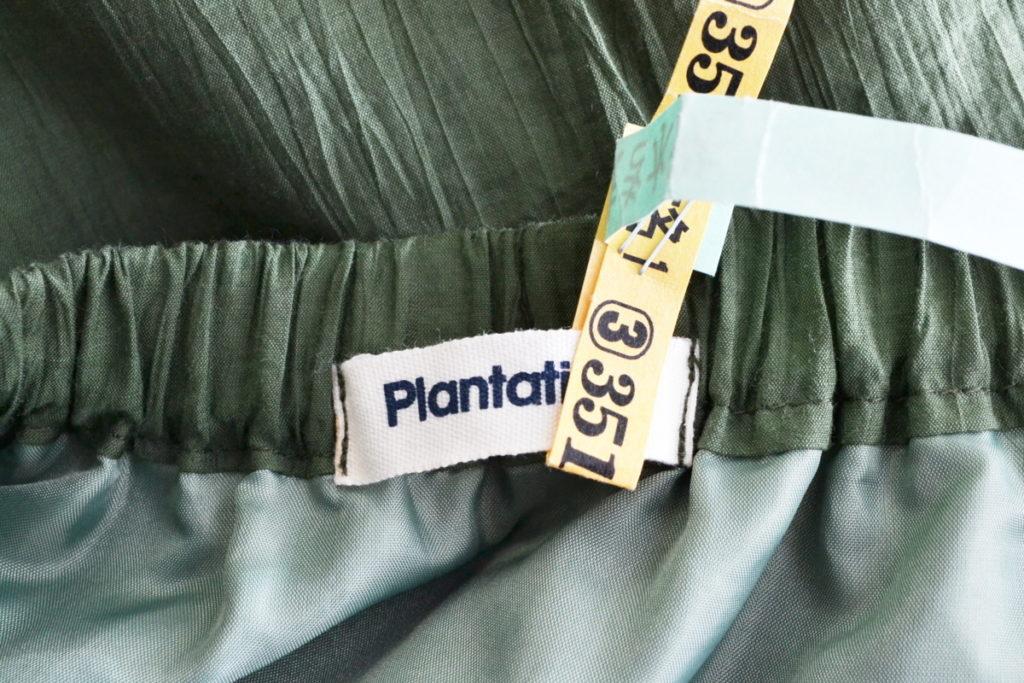 2000SS/縮絨加工 コットンナイロン イージーロングスカートの買取実績画像