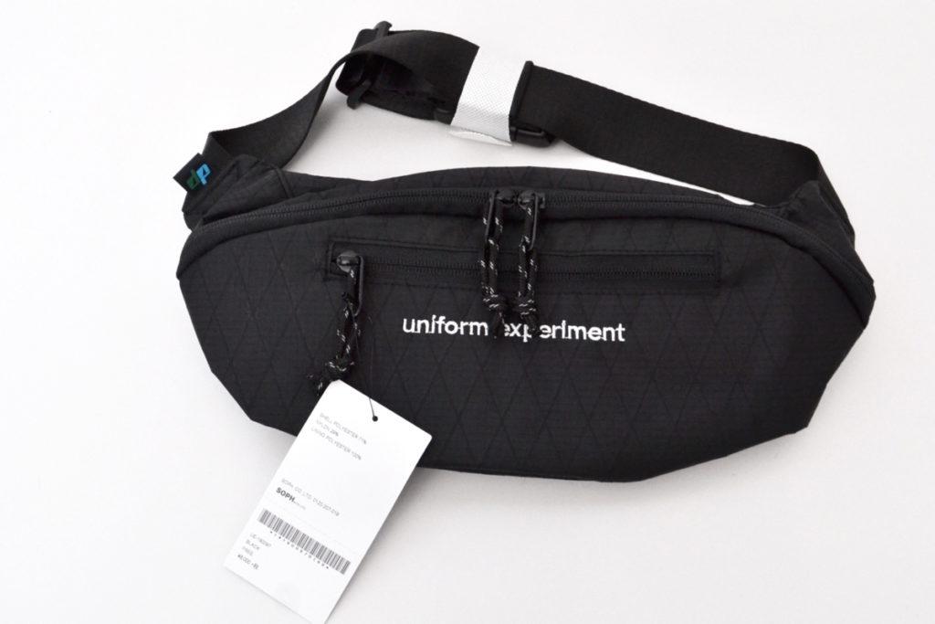 19SS/WAIST BAG ロゴ刺繍 ウエストバッグ