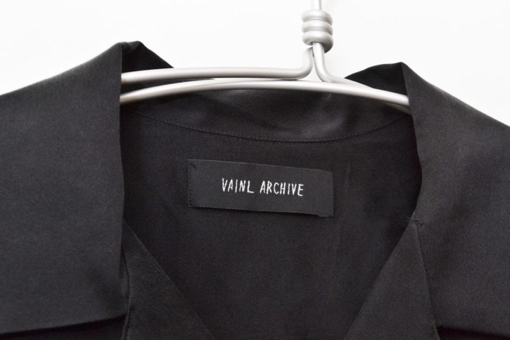 2018SS/MARK シルク オープンカラーシャツの買取実績画像
