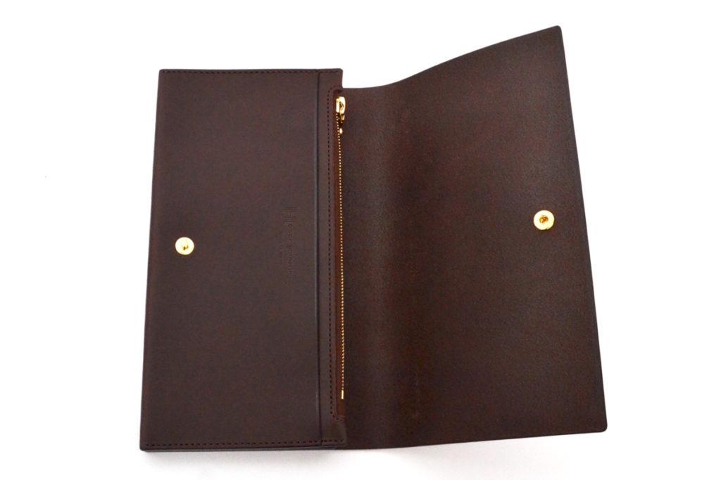 real italian vachetta leather long wallet レザー ロングウォレット 長財布の買取実績画像