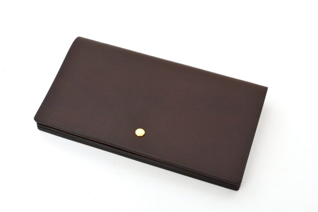 real italian vachetta leather long wallet レザー ロングウォレット 長財布