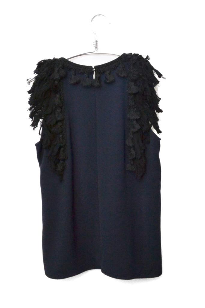 2015SS/フリンジ装飾 ノースリーブカットソー ドレスの買取実績画像