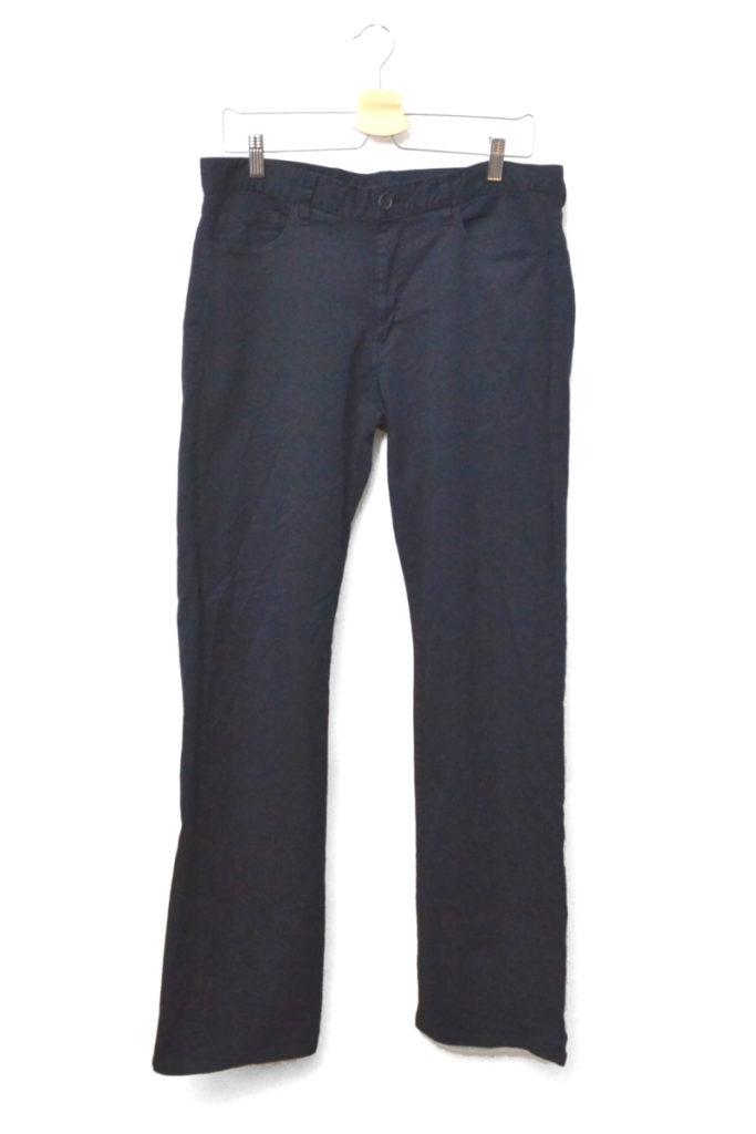 AD2004/製品染め コットン縮絨 パンツ