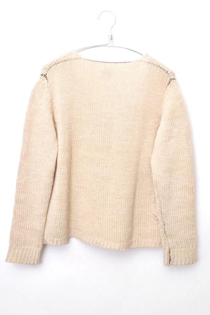 2016SS/Vネック リネンニット セーターの買取実績画像