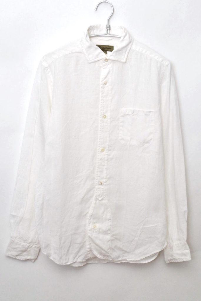 BRITISH OFFICERS SHIRT -LINEN- リネン オフィサーズシャツ