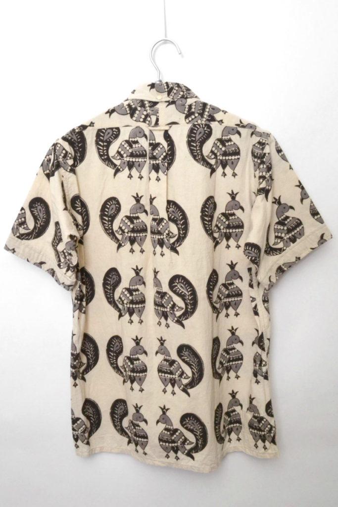 2012SS/ POPOVER BD SHIRT PEACOCK PRINT ピーコック プルオーバーBDシャツの買取実績画像