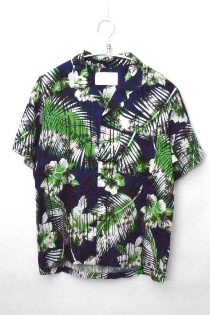 オープンカラー 半袖 アロハシャツ