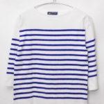 NAVAL 7S/L ナヴァル 7分袖パネルボーダー バスクシャツ