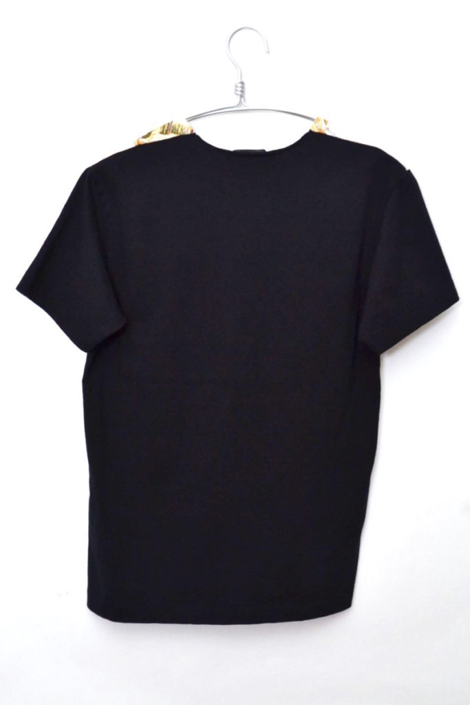AD2013 2013AW/シルク切替 半袖Tシャツの買取実績画像