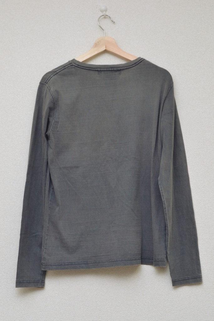 ユーズド加工 ポケット付き 長袖Tシャツ カットソーの買取実績画像