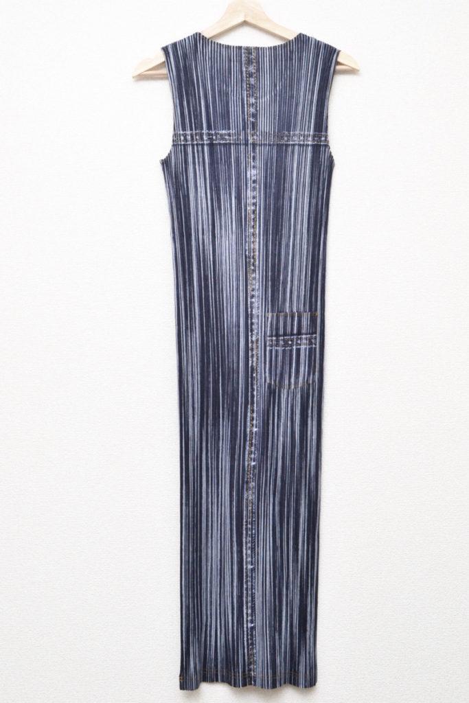 胸ポケット付き 総柄 ドレス ロングワンピースの買取実績画像