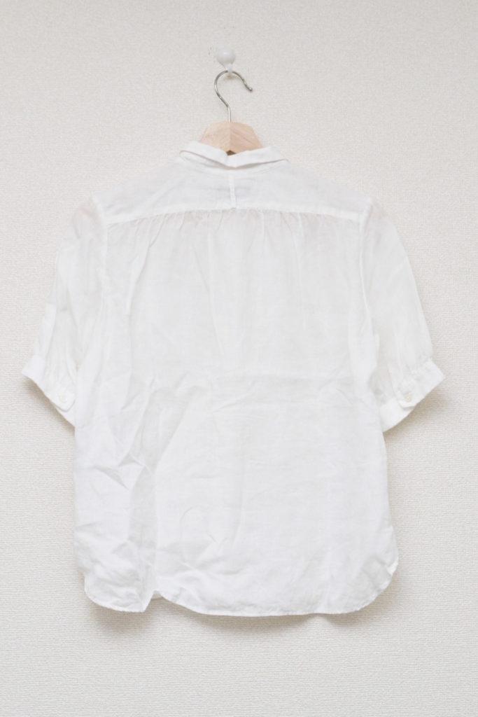 2013SS/ リネン 半袖 ブラウス シャツの買取実績画像