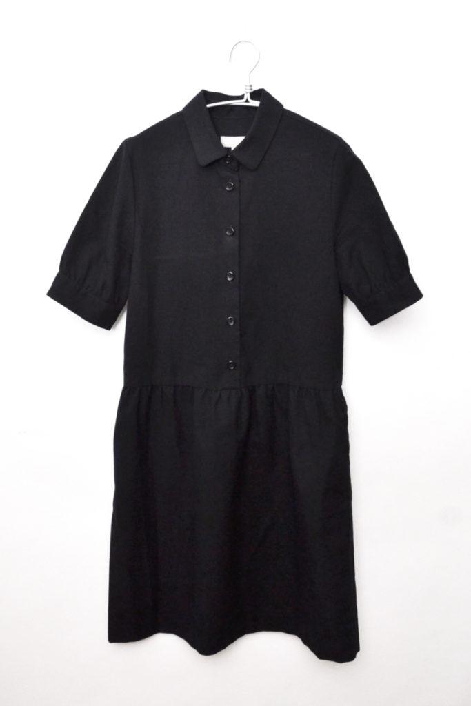 2014AW/コットンウールツイル ワンピース ドレス